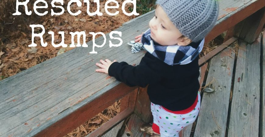 Monday Introductions // Rescued Rumps + a Giveaway!