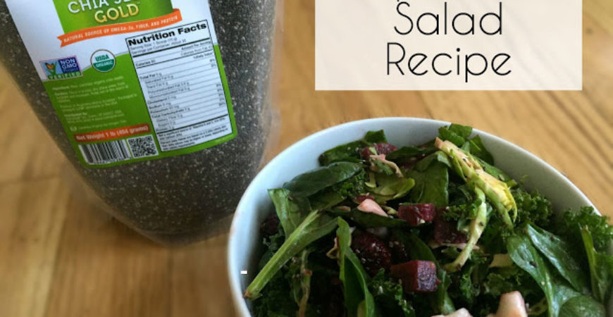 Recipe // Superfood Chia Seed Salad