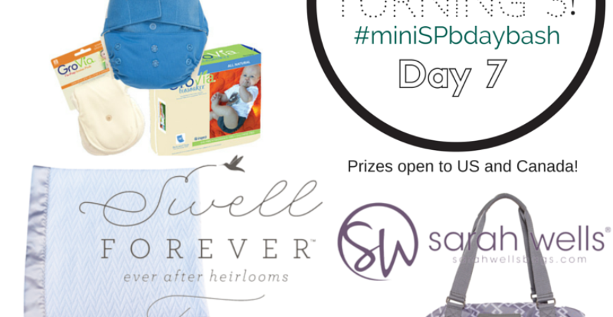 Day 7 #minispbdaybash Giveaway!