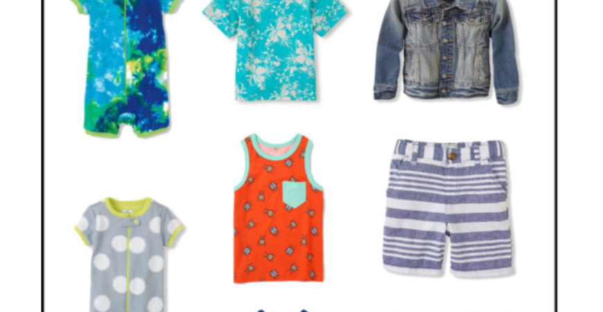 The Children's Place 50% off + Free Shipping + Cash Back Sale!