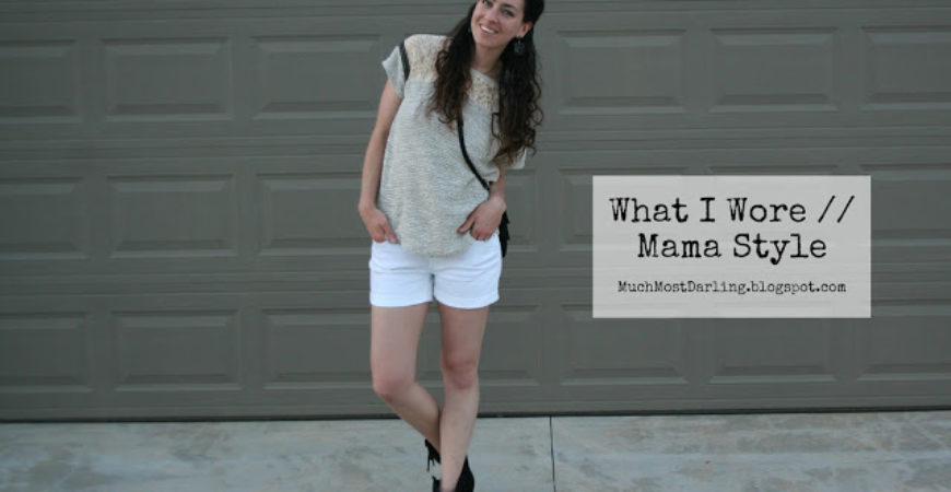 What I Wore // Mama Style: Date Night