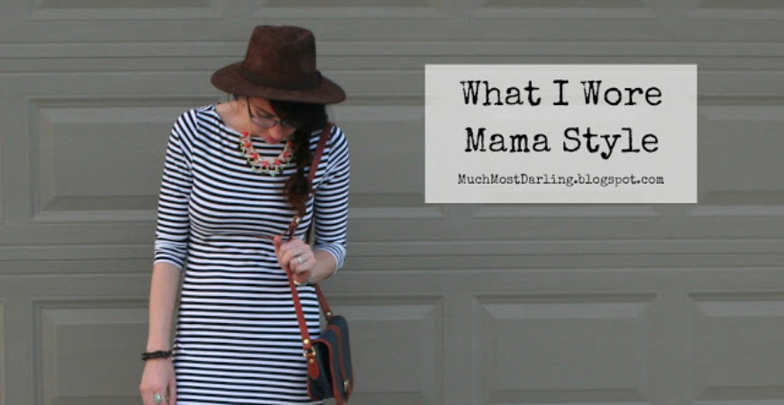 What i wore mama style stripes free month of for Mama s fish house dress code