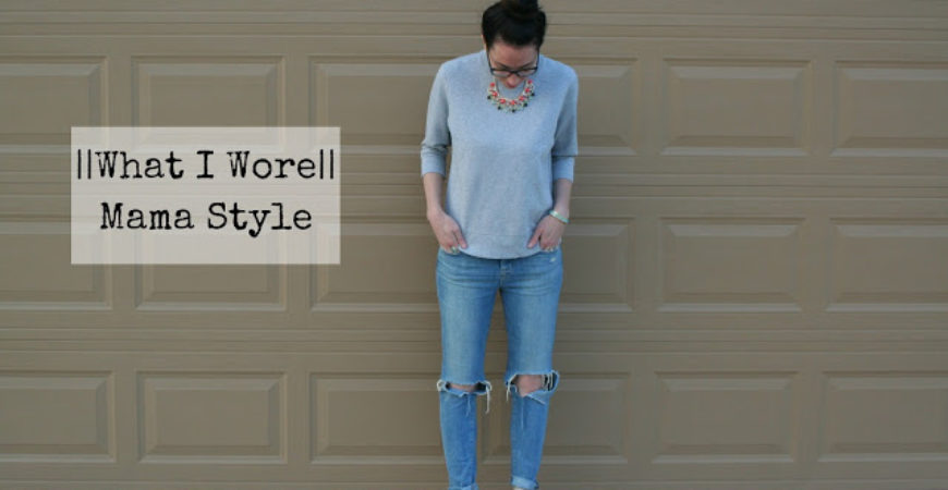 What I Wore // Mama Style ft Rocksbox + First Month Free Code!