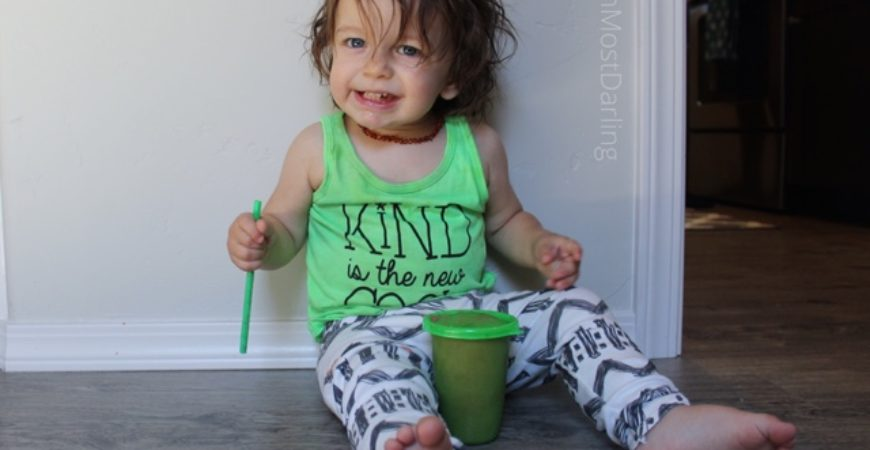 Green Summer Smoothie w/ Nuby