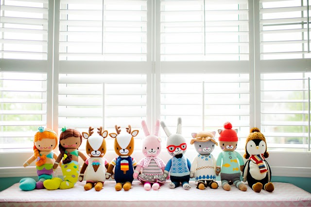 cuddle + kind hand knit dolls fighting childhood hunger worldwide