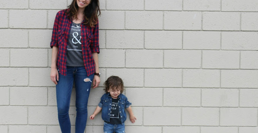 What We Wore // Mama + Mini Style