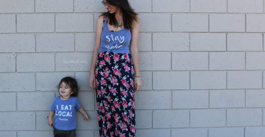 What We Wore // Mama + Mini Style feat POP! Apparel Co