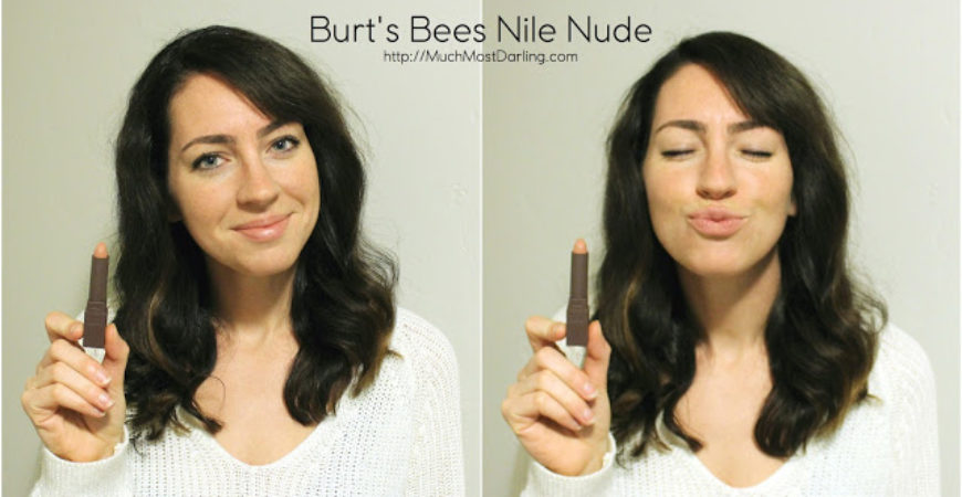 Burt's Bees new moisturizing lipsticks – available at Target!
