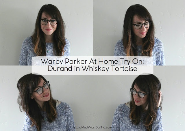 a5a0bbc3aa Warby Parker packs up my five frames I choose for their At Home Try On