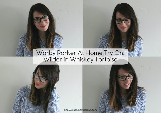 b3533357ae Warby Parker packs up my five frames I choose for their At Home Try On