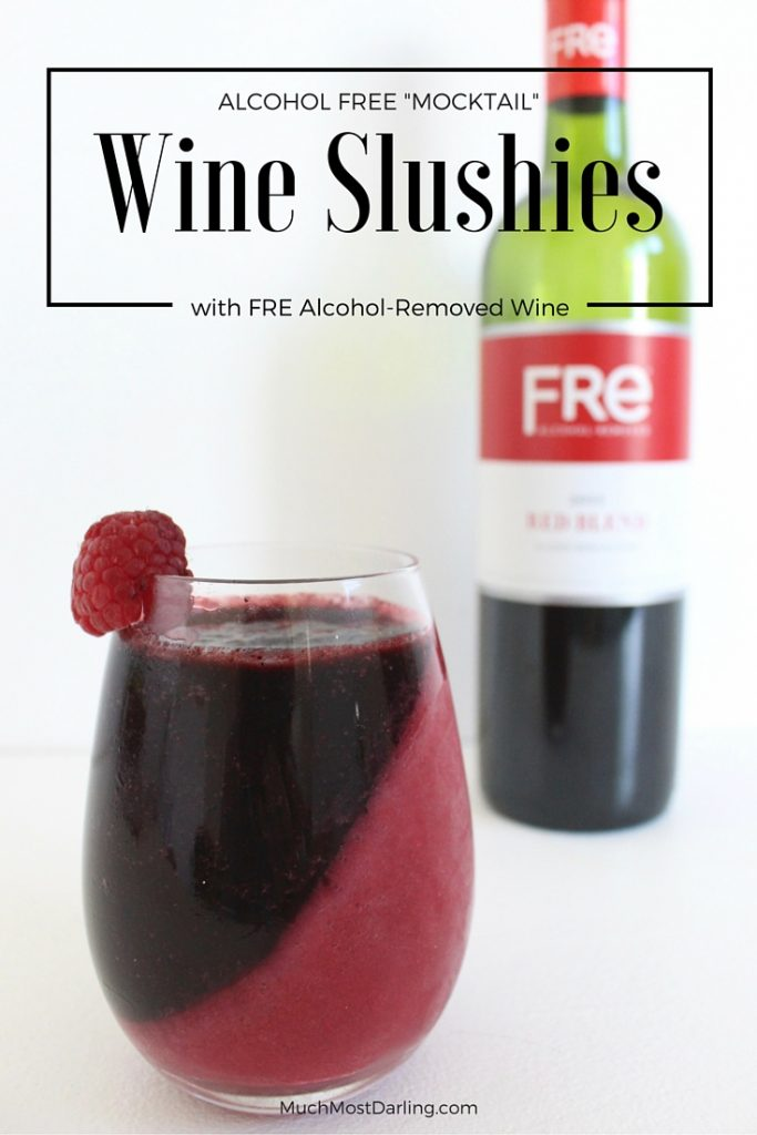 wine mocktail slushies #shop