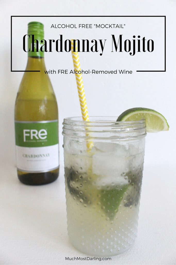 mocktail mojito FRE Wine drink for spring #shop