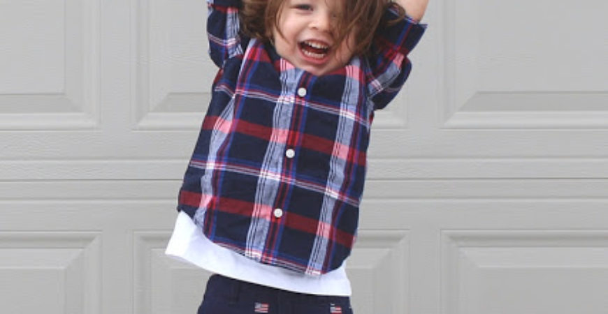 One Big Happy: Red, White + Cute with Gymboree