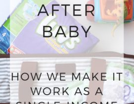 Budgeting After Baby