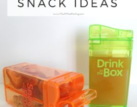 Quick + Easy Snack Combination Ideas for Toddlers