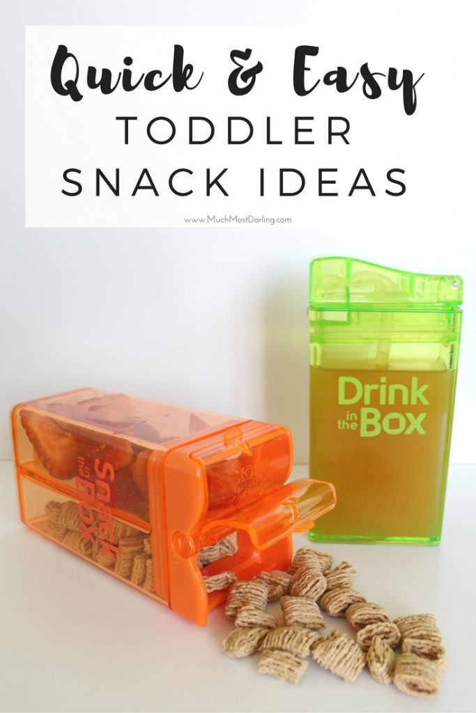Toddler Snack Ideas: Quick + Easy Combinations For Picky Eaters