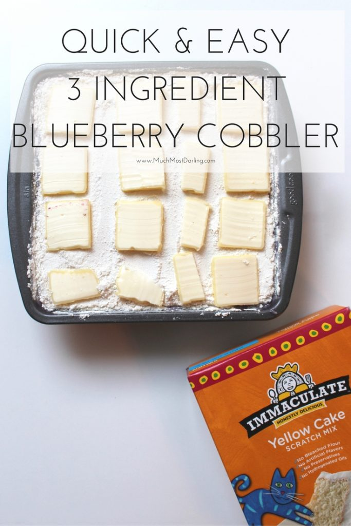 blueberry cobbler quick-easy-3-ingredient-dump-cake
