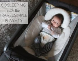 Cosleeping with TravelSimple Playard
