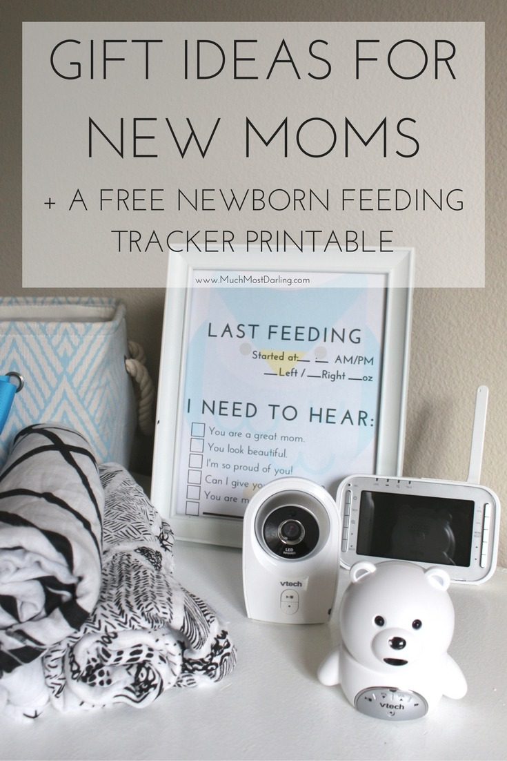 The Best Gift Ideas For A New Mom Much Most Darling