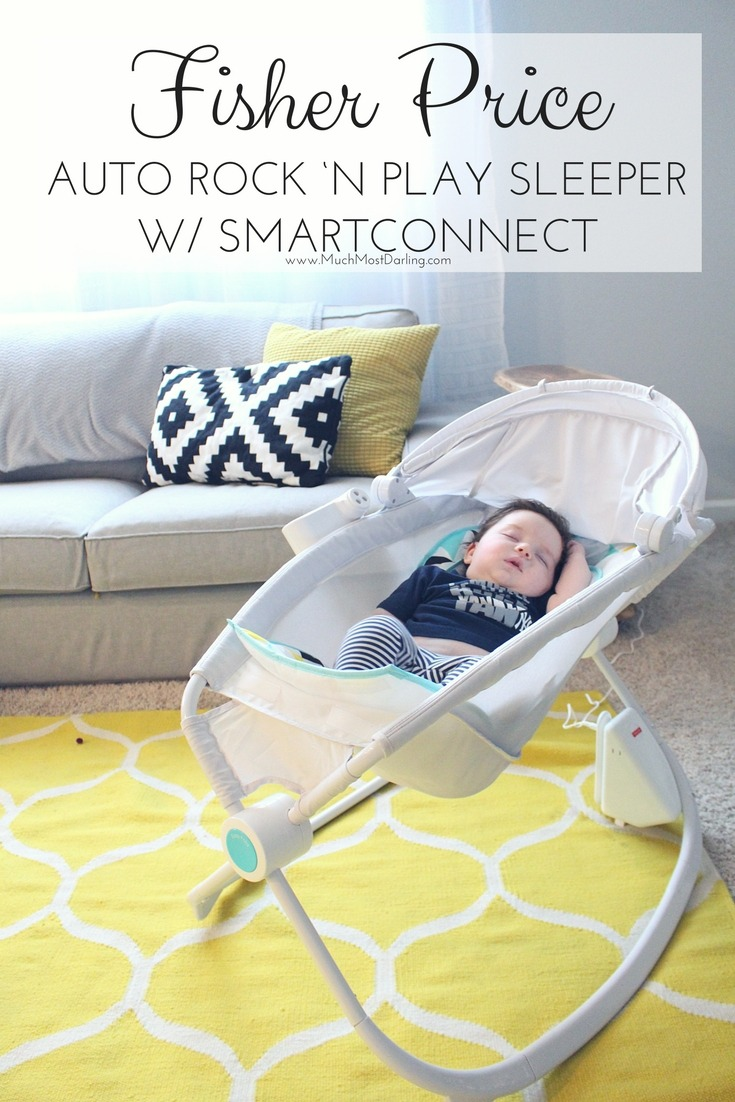 Fisher Price Premium Auto Rock 'n Play Sleeper with SmartConnect