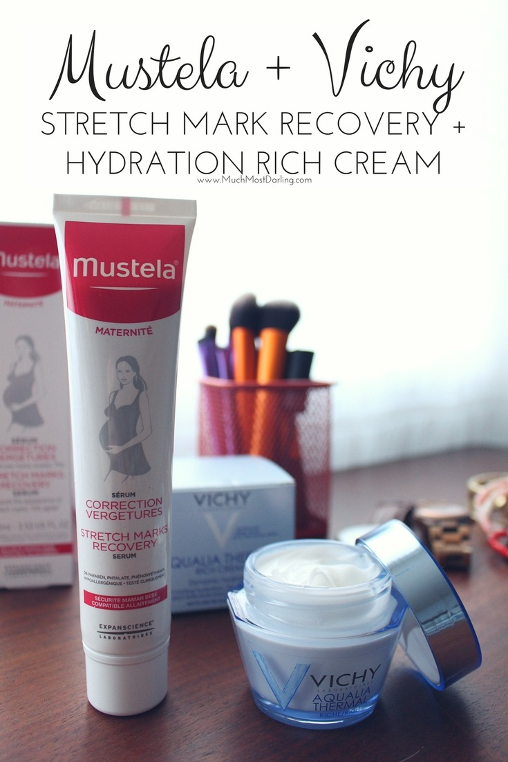 Mustela Stretch Marks Recovery Serum Vichy Aqualia Thermal Dynamic Hydration Rich Cream review