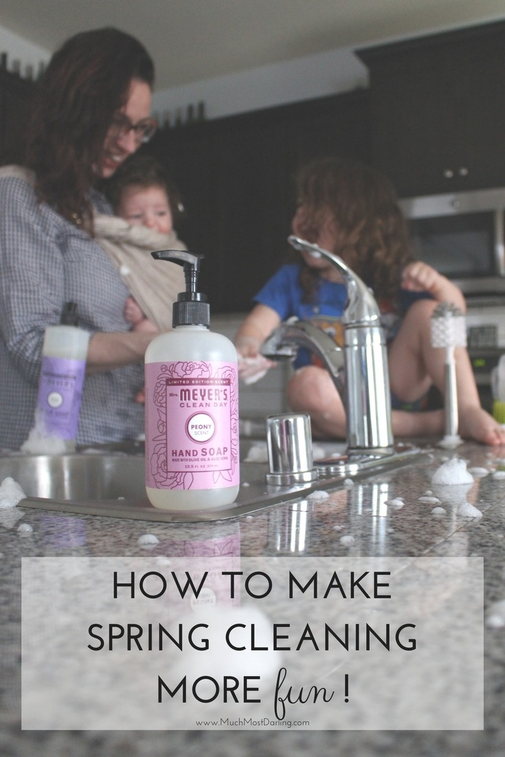 how to make spring cleaning more fun