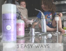 3 Easy Ways to Get Into Spring Cleaning Mode with Mrs. Meyers