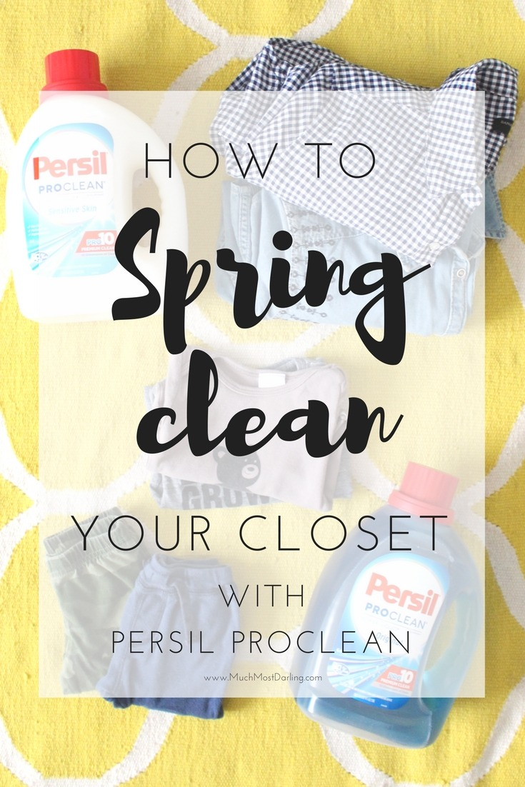 spring cleaning your family's closets with persil - much.most.darling
