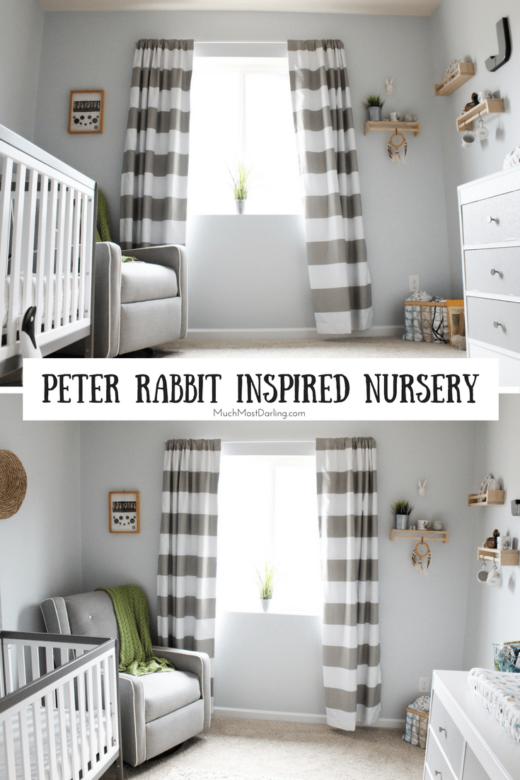 gender neutral gray and white peter rabbit natural. Black Bedroom Furniture Sets. Home Design Ideas