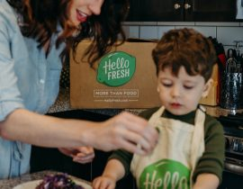 HelloFresh: delicious dinners delivered straight to your door