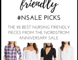 Breastfeeding friendly NSale picks