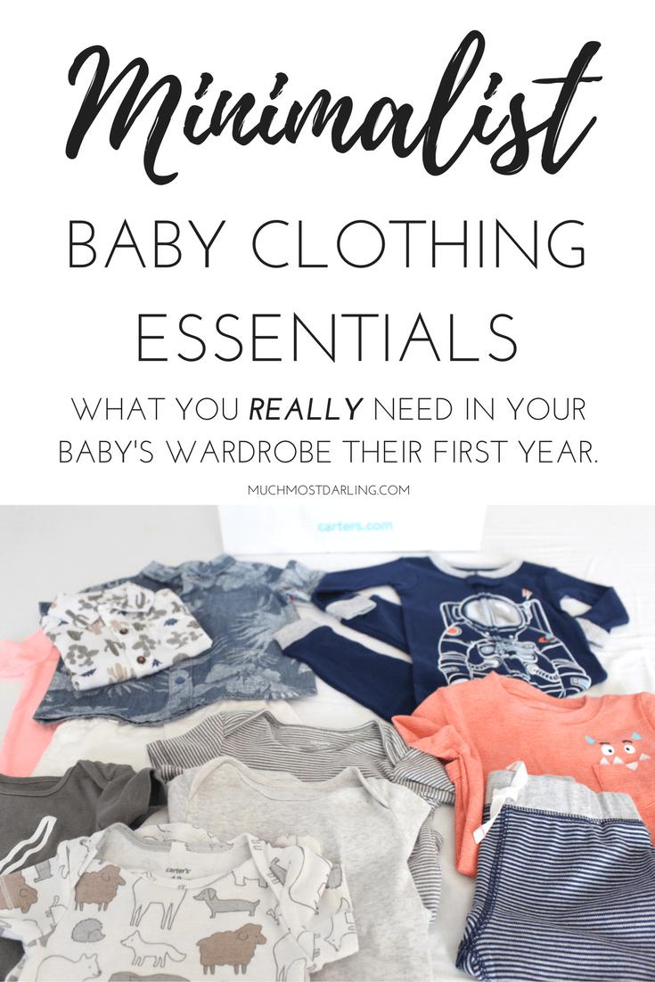 How Many Baby Clothes Do I Need My Minimalist Baby