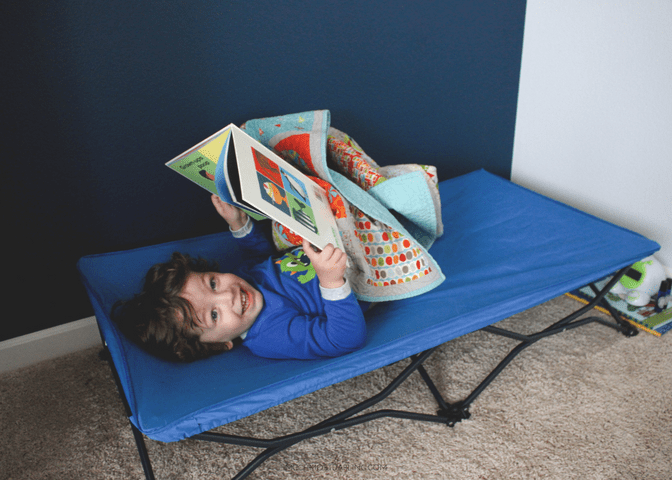 Bed Regalo My Cot Portable Children S Set Up The Area Where Your Toddler Will Be Sleeping