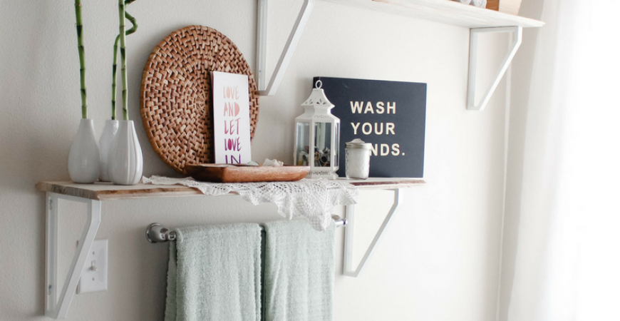 Relaxing bathroom refresh with Febreze ONE Bamboo