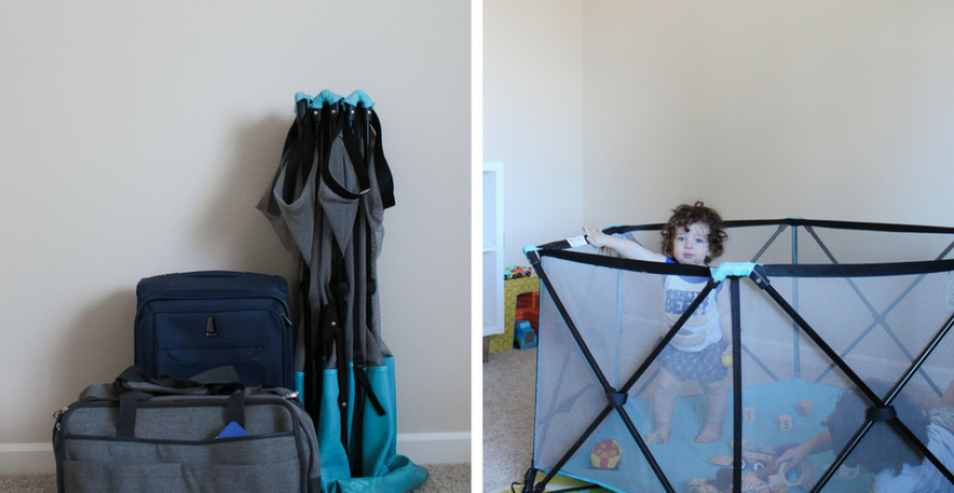 Baby proofing while traveling: how to do it without going crazy
