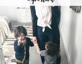 "How I get ""me time"" as a mom, and why it's so important."