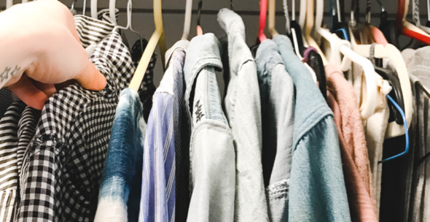 Spring Closet Cleanout + Refresh with Febreze ONE