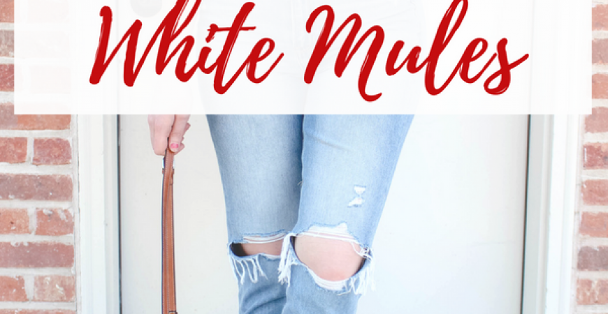 White Mule Shoes: 3 Ways