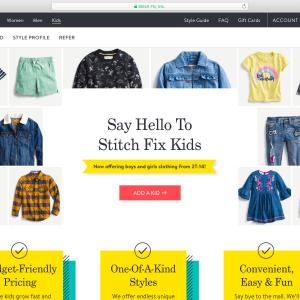 Stitch Fix Kids Style Delivery Service