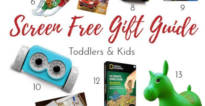 Screen Free Gift Guide for Kids