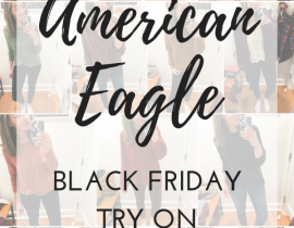 American Eagle Try On: November