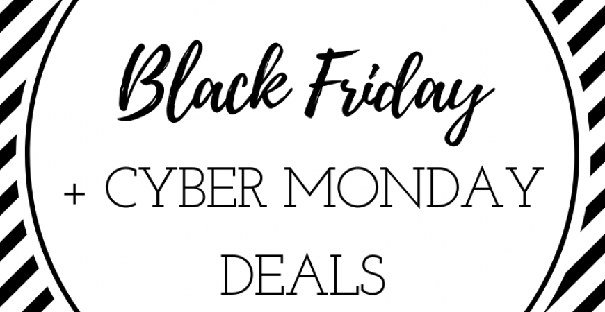 Your place for ALL the Black Friday + Cyber Monday sales: