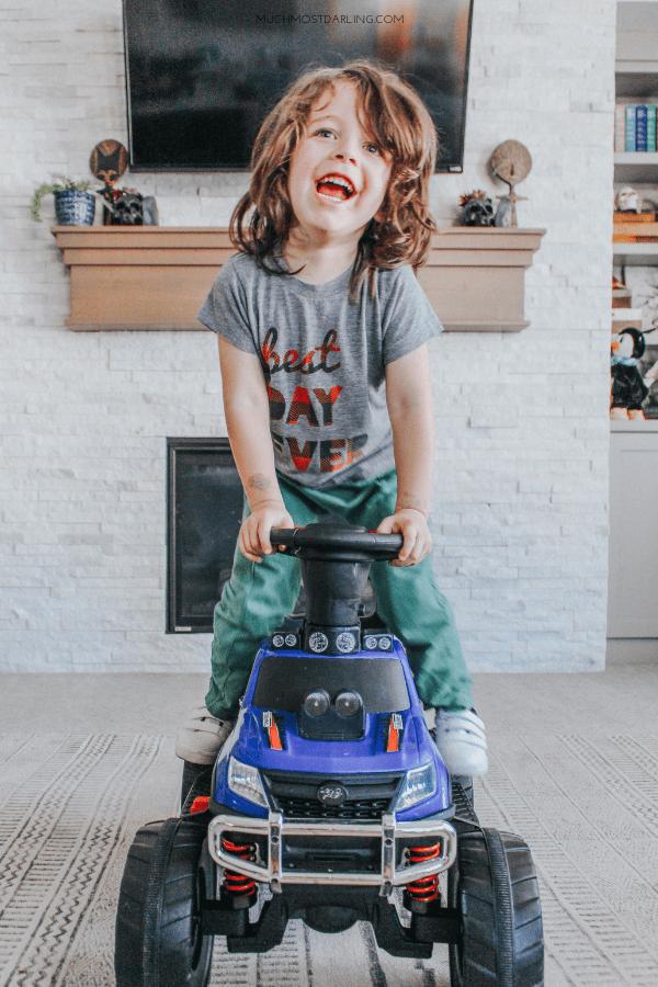 best preschooler gifts Huffy RC Monster Truck review-3
