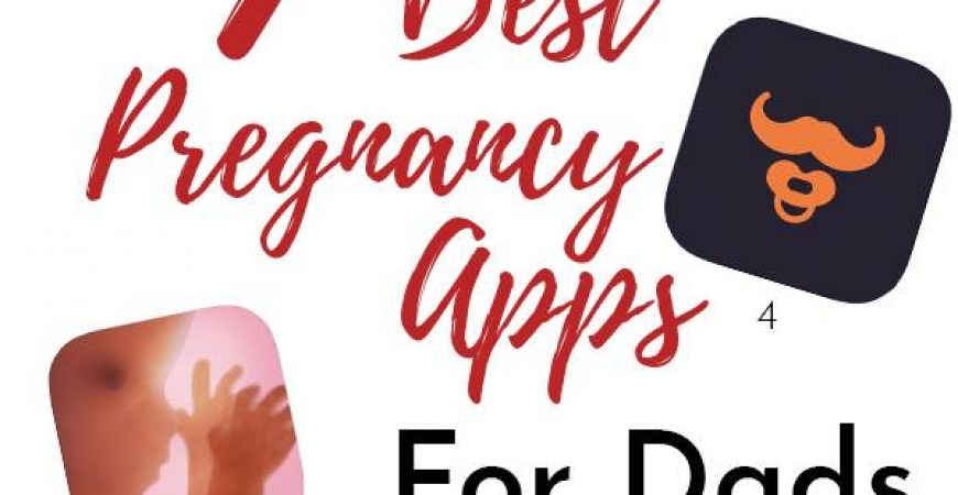 7 of the best pregnancy apps for dads / partners