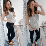 Maternity Jean Try On + Review