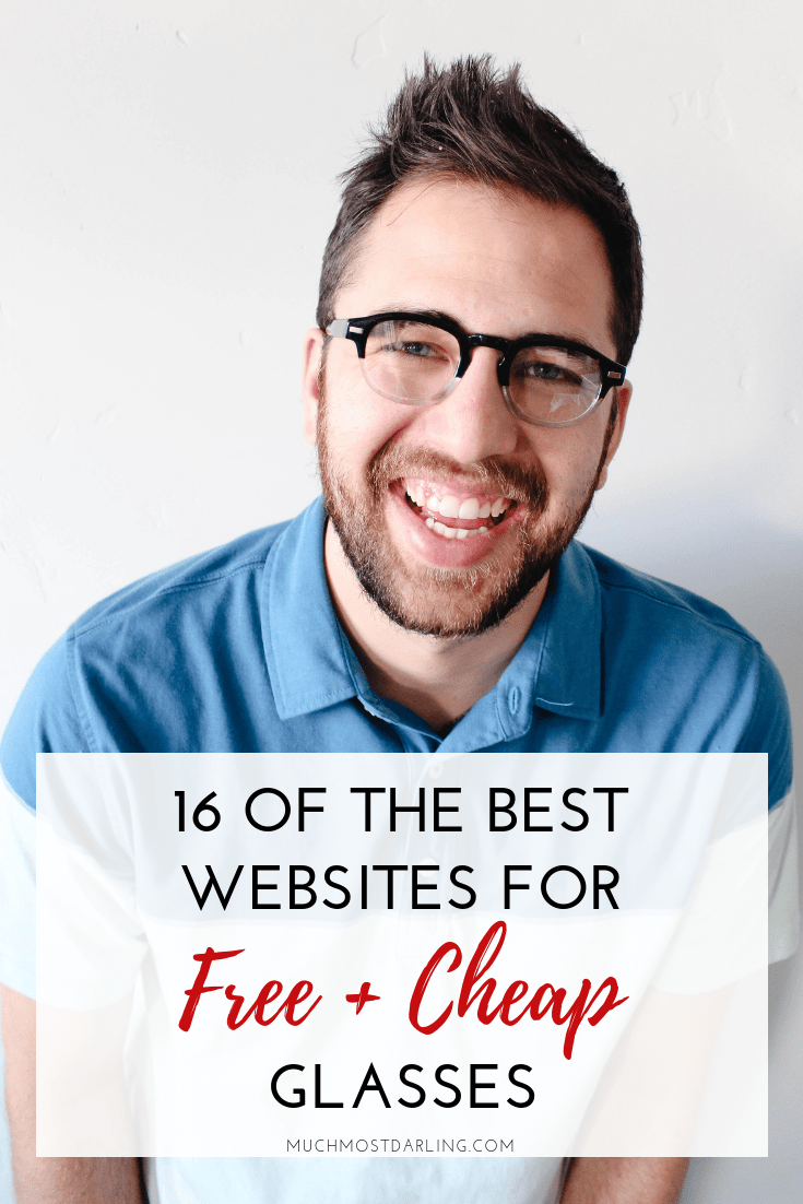16 of the best websites for cheap (+ FREE) eyeglasses | Much