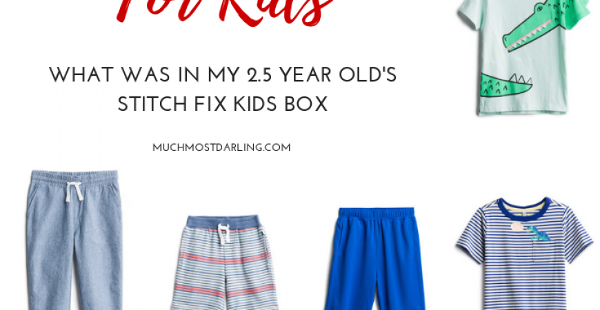 We Tried Stitch Fix Kids + Here's What We Thought