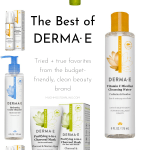Best of Derma E: My Tried + True Favorites