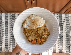 Easy Gluten Free Dinner Idea: Chicken + Butternut Squash Quinoa