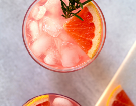 Rosemary Grapefruit Gin and Tonic